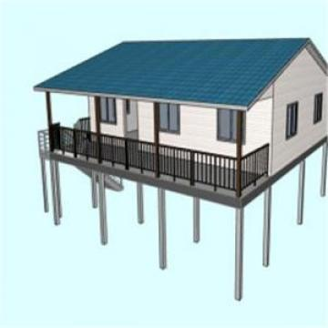 Easy Construction Light Steel Simple Prefab Villas (PTV) Light steel villa