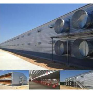 2 Floors Prefabricated Steel Poultry House (PCH-14) Poultry House&Shed