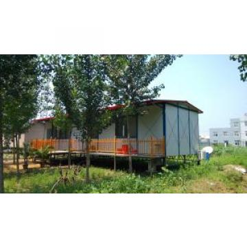 Waterproof Labor Steel Prefab House , Warehouse K or T Modular House