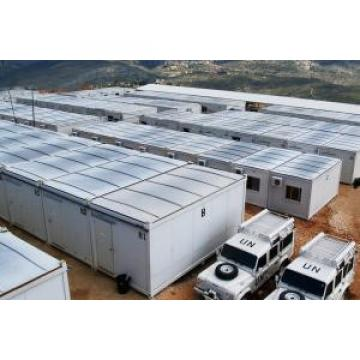 Light Steel Folding Container House With Steel Frame and Sandwich Panels