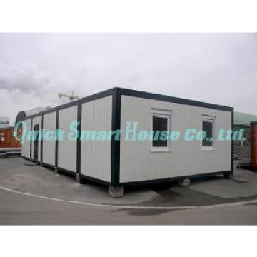 Movable Folding Container House , 2 Storey Steel Frame Prefabricated Houses