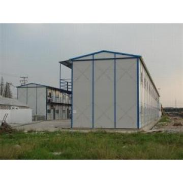 Labors Prefabricated Accommodation , Prefab Steel Dormitory Housing