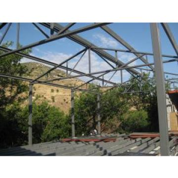 Mobile Light Steel Structure Villa , Sandwich Panel Steel Structure Shed