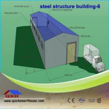 Modular Light Steel Prefabricated Steel Buildings Customized Design With Cement Floor