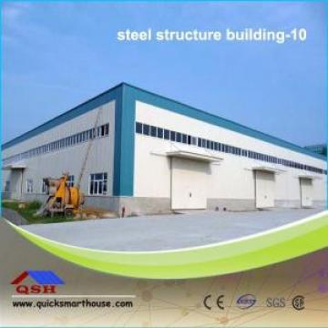 Light Steel Prefabricated Steel Buildings High Strength For Workshop / Warehouse