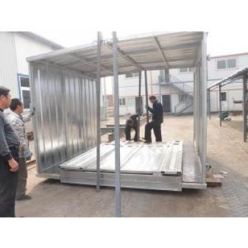 Folding Frame Steel Storage Sheds , Galvanized Steel Prefab House