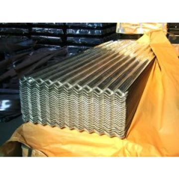 Galvanized Corrugated Standard Color Steel Sheet With Waterproof  / Fire Insulation