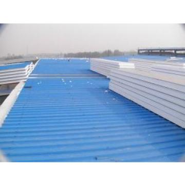 Blue EPS Waterproof Structural Insulated Panels Galvanized , Corrosion Resistance