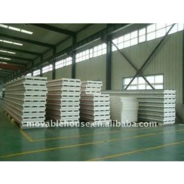 Waterproof Structural Insulated Panels Galvanized Steel With Fire Insulation