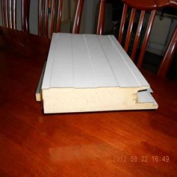 PU Wall Waterproof Structural Insulated Panels , Fire Insulation Galvanized Steel Sheet