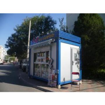 Light Weight Container Kiosk , Modern Small Movable Booth