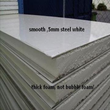EPS Galvanized Insulated Sandwich Panels , Strong Corrosion Resistant Steel Sheet