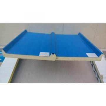Blue Waterproof Insulated Sandwich Panels Galvanized Steel Sheet With Fire Insulation