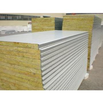 Corrosion Resistance Insulated  Steel Prefab House , Mineral Wool Sandwich Panel