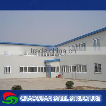 Prefabricated light steel frame warehouse construction
