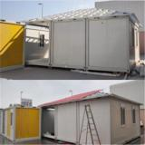 20ft Steel Structure Container House in Bahrain Container House