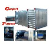 Portable Light Steel Storage Sheds Rustproof For Outdoor CE & SGS