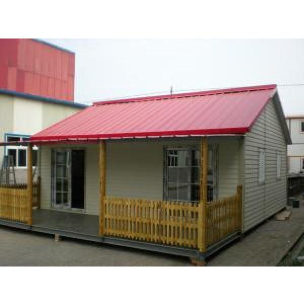 Anti - Rust Light Steel Structure House #1 image