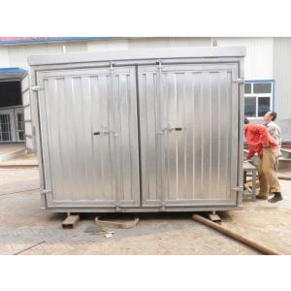 Folding Steel Storage House Container #1 image