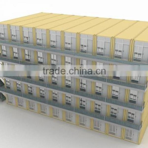 20ft 40ft Prefab house for sale to Egypt from China #1 image