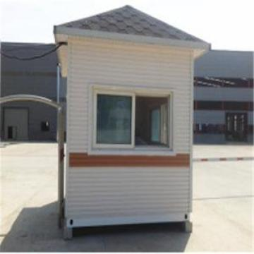 Prefab Light Steel Structure Portable Guard House house with granny flat