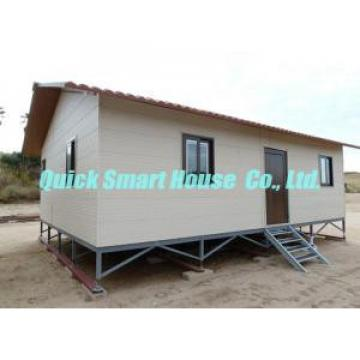 Windproof Prefabricated House With Granny Flat