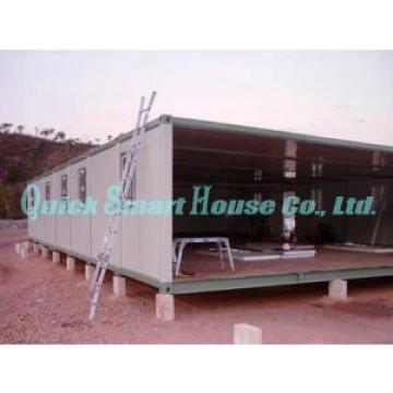 Two Storey Folding Prefab Container House For Construction Camping