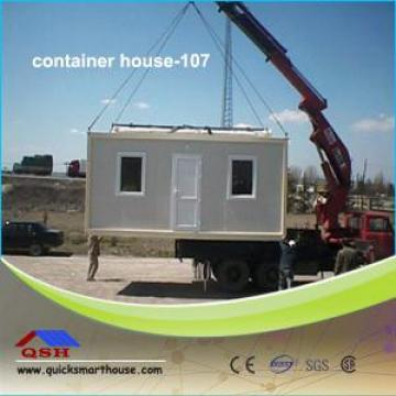 Galvanized Steel Prefab Container House , Residential Mobile Homes 20ft / 40ft