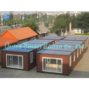 Galvanized Q235 Steel Prefab Container House , Portable Structure Homes