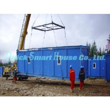 Family Office Prefab Shipping Container Home With Galvanized Q235 Steel