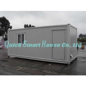 OEM Flat Pack Frame Mobile Modular Homes , White Modular Home
