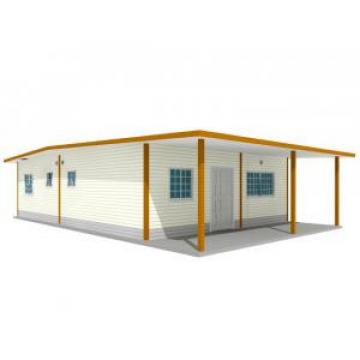 Temporary Rustproof Light Steel Structure Villa For Disaster Area