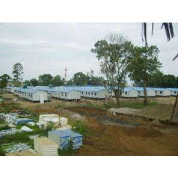 Light Steel Structure Movable Labor House , Transportable Prefabricated Accommodation Units