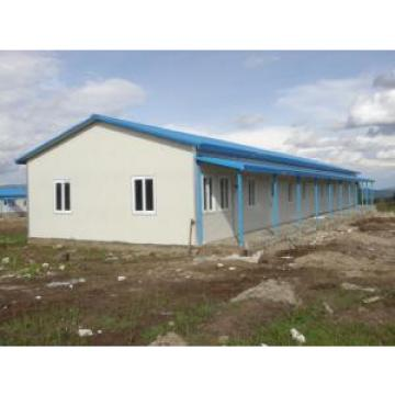 Simple Temporary Site Prefabricated Accommodation , Labor Portable Temporary Housing