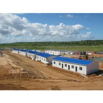 Movable Modular Prefabricated Accommodation Units With Sandwich Panel Wall