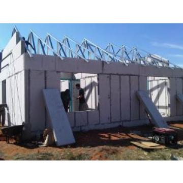 Low Cost Concrete Prefabricated House With Cement Sandwich Panel