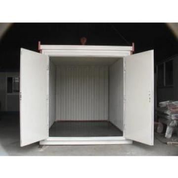 Galvanized Corrugated Steel Storage Shed , Folding Steel Warehouse