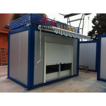 Low Cost Movable Container Kiosk , Small Movable Homes With Long Life Span