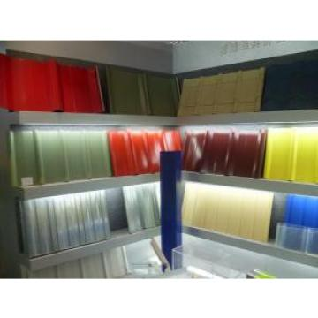 White Blue Color Steel Sheet , Corrugated Steel Roofing Sheets