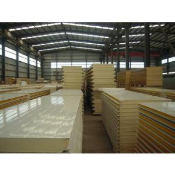 Polyurethane Pu Insulated Sandwich Panels With Flat / Corrugated Surface