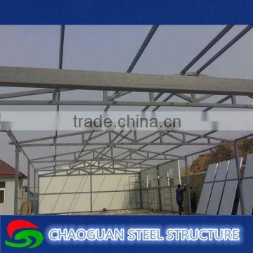 Light metal roofing warehouse