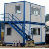 Container Modular House for Dormitory house with granny flat