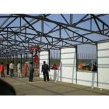 Low Cost Prefabricated Accommodation , Office K Or T Modular House