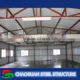 Prefabricated Design Structural Steel Frame Warehouse for sport hall
