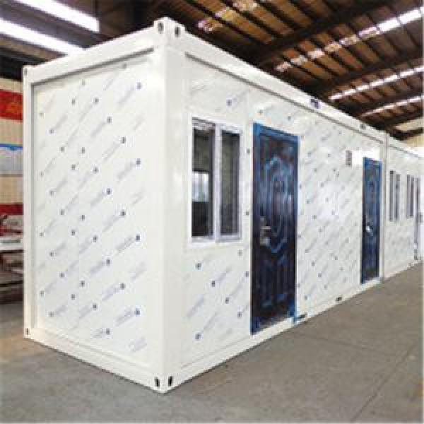 Prefabricated Modular Steel Container House/Home2 Bedroom Modular Homes #1 image