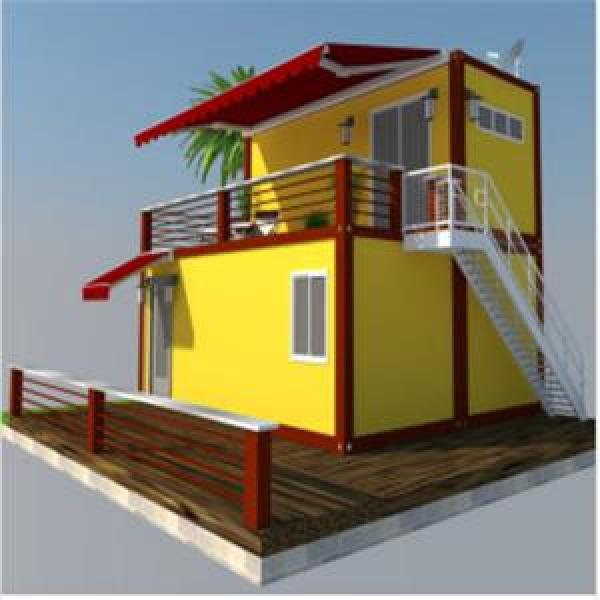 China 20ft Luxury Prefab Container Homes for Sale with Low Cost office container #1 image
