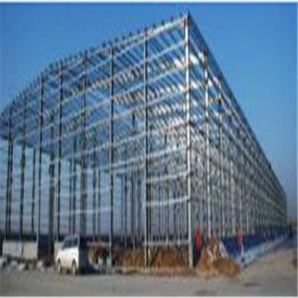 Steel Metal Buildings Warehouse Curved Roof Design Structural Steel She Poultry House&Shed #1 image