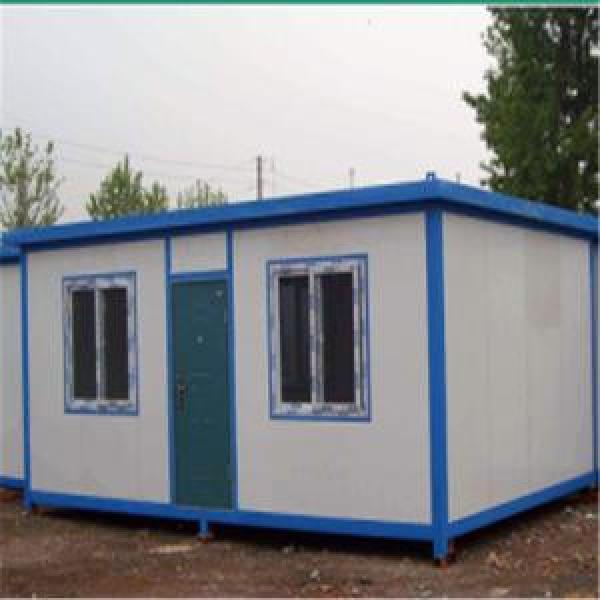 Easily Assembled Prefab Container House for Storage or Relief House strong container house #1 image