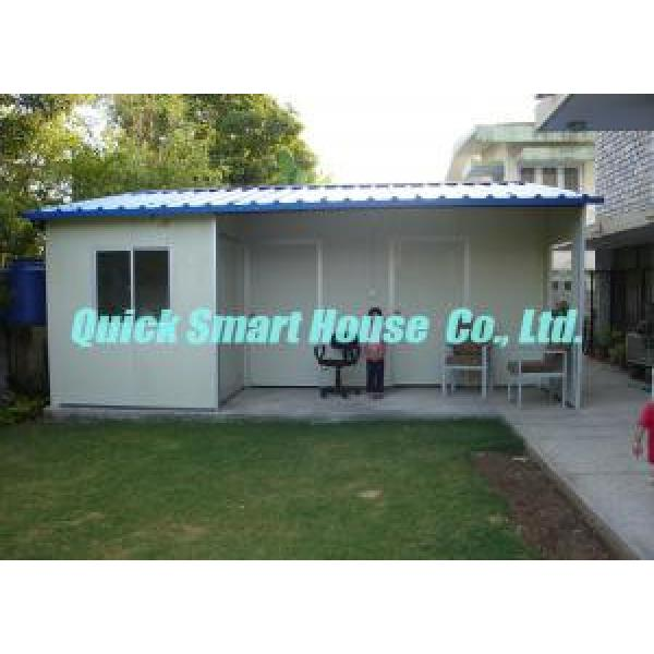 Sandwich Panel Prefabricated House Portable For Temporary Housing #1 image