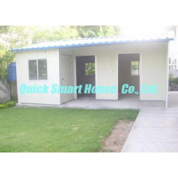 Sandwich Panel Prefabricated House Portable For Temporary Housing #2 image